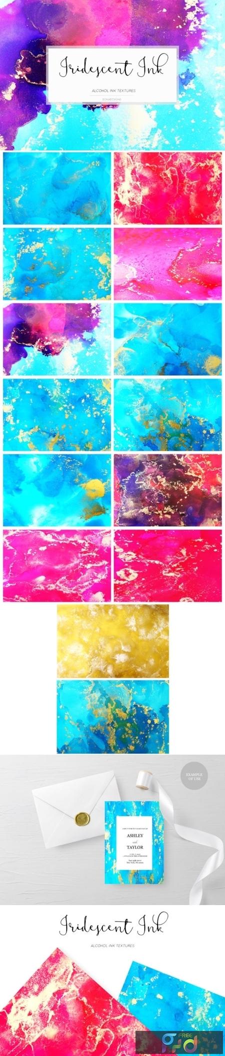 Iridescent Ink Textures 1673750 1