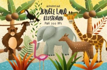 Jungle Land Illustration 1666170 6