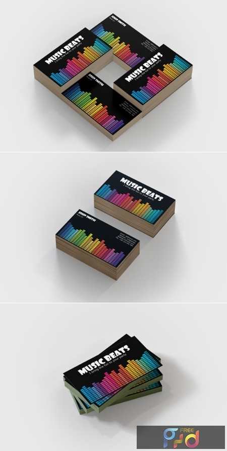 Music Business Card Template 1673898 1