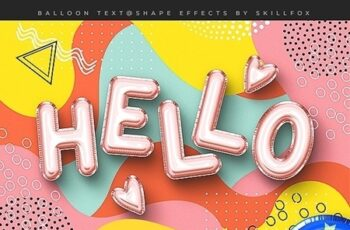 Foil Balloon Text Effects - Vol.2 24271889 3