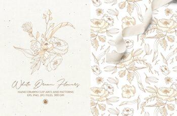 White Dream Flowers 3981263 2