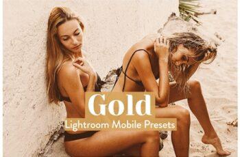 Gold Lightroom Presets Mobile 3989922 3