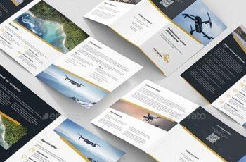 Drone Photographer – Brochures Bundle Print Templates 6 in 1 24259566 3