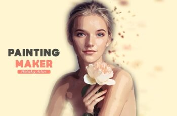 Painting Maker Photoshop Action 3999758 8