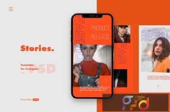 Instagram Story Template MFPS3DN 3