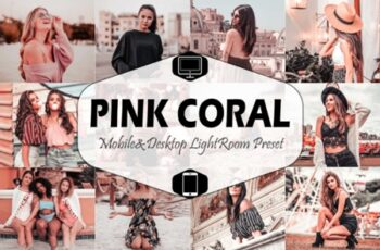 Pink Coral Lightroom Presets 1697858 3
