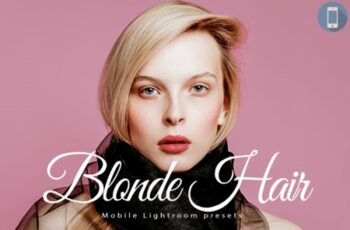 14 Blonde Hair Mobile Lightroom Presets 1700912 5