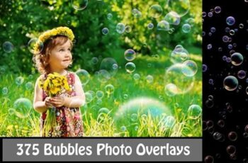375 Bubbles Photo Overlays 1666912 7