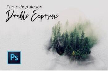 Double Exposure Action Photoshop 24273778 2
