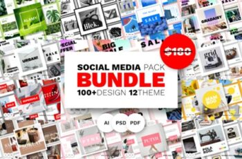 Social Media Bundle - Vol.03 1666948 8