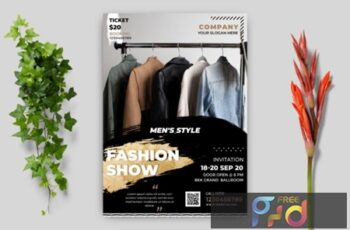 Fashion Flyer Template 1712220 6