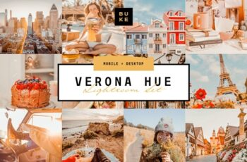 Verona Hue Lightroom Preset Bundle 3917009 5