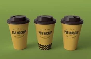 Three Paper Cups Mockup 238444184 8