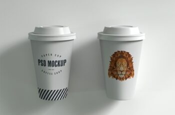 Two Paper Cups Mockup 238444307 8