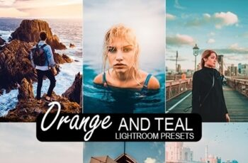 20 Orange & Teal Lightroom Preset 24196587 3