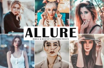 Allure Mobile & Desktop Lightroom Presets 1730153 5