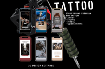 TATTOO - Animated Instagram Stories 1715239 4