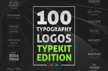 100 Typography Logos Typekit Edition 801801 4