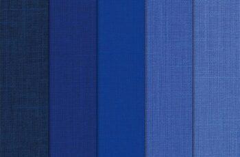 Digital Paper Pack Linen Blue Shades 1629437 6