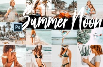 5 Summer Noon Photoshop Actions 1725146 7