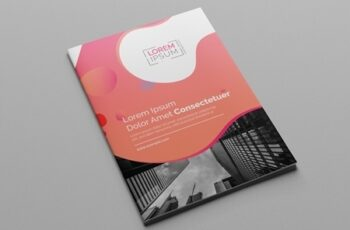 Pink Gradient Bi-Fold Brochure Layout 197550375 5