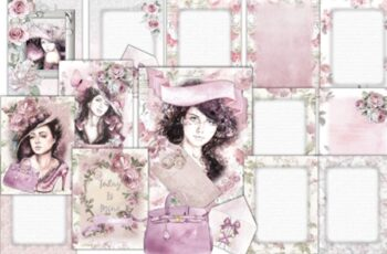 Printable Backgrounds Pretty in Pink 1629610 7