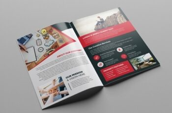 Red and White Business Brochure Layout 248205346 2