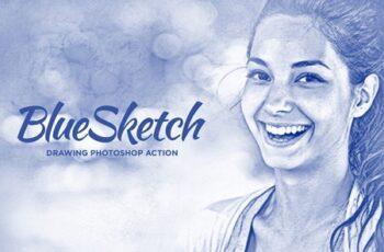 Pencil Sketch Photoshop Actions 3948303 8