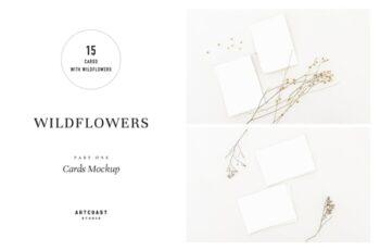Wildflowers Cards Mockup 4046266 5