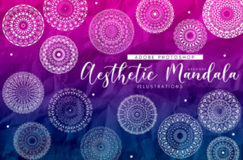 15 Aesthetic Gradient Mandalas 1714791 11