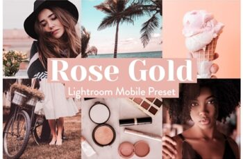 Rose Gold Lightroom Presets Mobile 3972243 3
