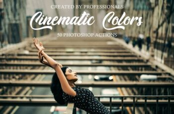Cinematic Colors Photoshop Actions 3601006 3