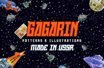 Gagarin - Patterns & Illustrations 1714953 4