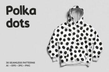 Polka Dots Seamless Patterns 1715076 6