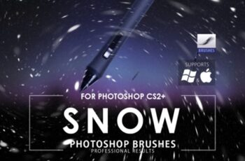 Snow Photoshop Brushes 1726872