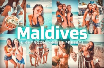 7 Mobile Lightroom Presets Maldives 4004308 2