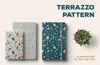Terrazzo Seamless Patterns 1715069 4