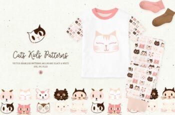 Cats Kids Patterns 1730173 8