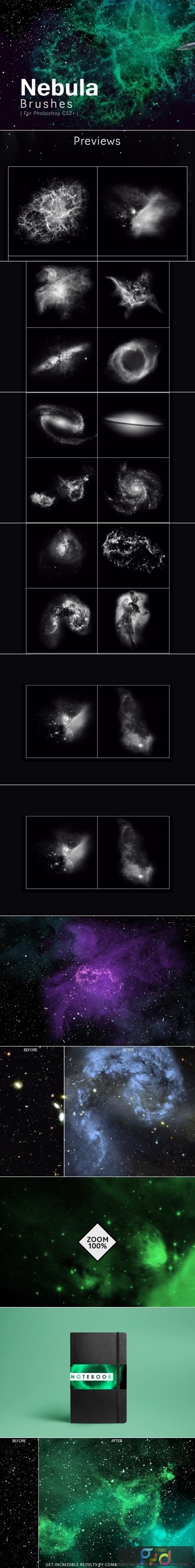 Nebula Photoshop Brushes 1730177 1