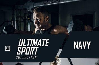 Ultimate Sport Collection - Navy Lightroom Preset 24356618 6