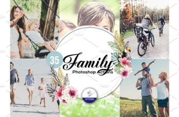 35 Family Photoshop Actions 3937411 7