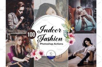 100 Indoor Fashion Photoshop Actions 3937761 7