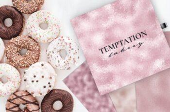 10 Seamless Blush Pink Foil Textures 1730082 6