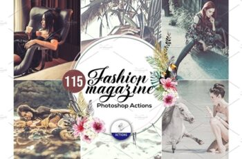 115 Fashion Magazine Photoshop Actions 3937428 6