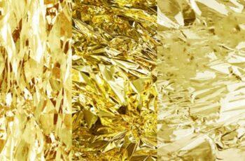 Gold Foil Digital Paper, Gold Textures 1729827 6