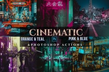 Cinematic Orange & Teal Pink & Blue Actions 24356673 1
