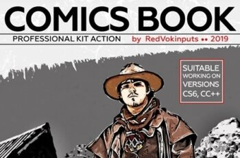 Comics Book Kit Photoshop Action 24261296 5