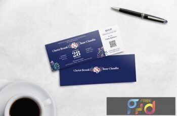 Boarding Pass Wedding Invitation 5DCY763 3