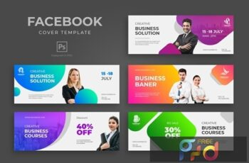 Business Facebook Cover Template KYMUTPW 7