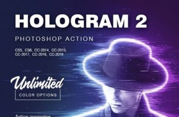Hologram 2 - Photoshop Action 24355788 6